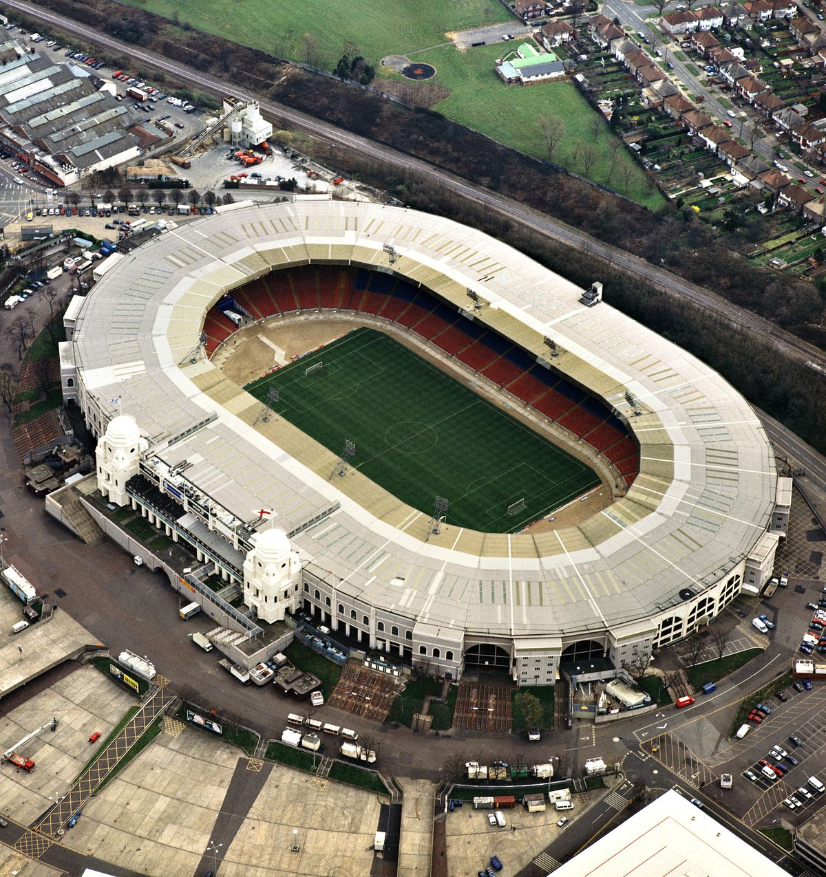 Old Wembley Stadium, London