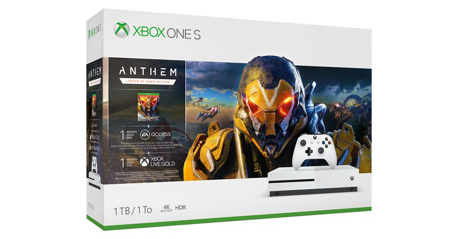 Microsoft and EA announce an Anthem Xbox One S bundle