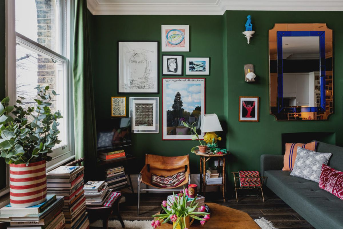 London flat goes all in on color and whimsical decor curbed for Style eclectique decoration