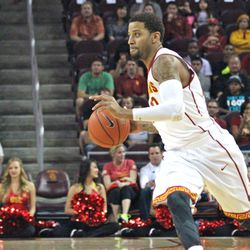 J.T. Terrell played his first game at Galen Center since Nov.