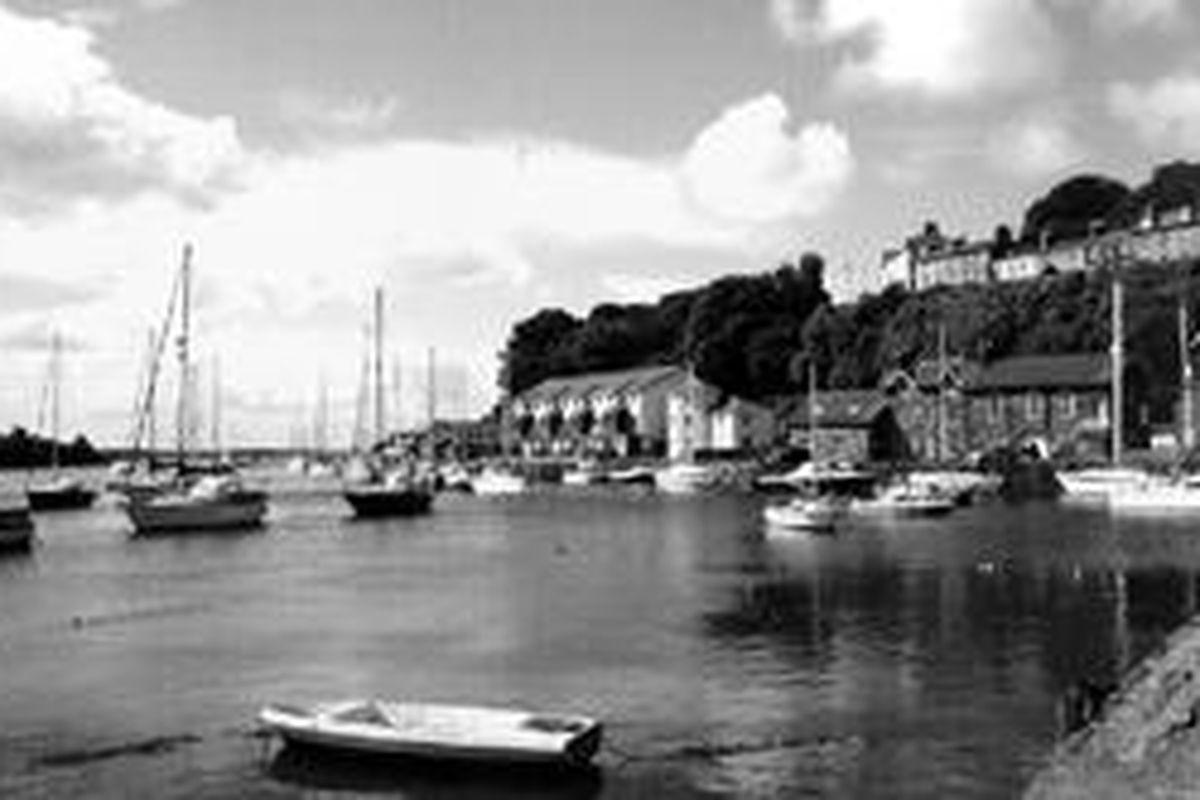 """Fishguard, Wales, is the fishing village that was the filming location of """"Moby Dick,"""" starring Gregory Peck."""