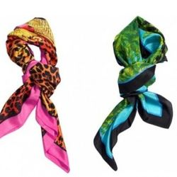 """For $253, you can get <a href=""""http://www.ebay.com/itm/BNWT-SILK-VERSACE-H-M-SCARVES-BOTH-BLUE-PINK-TRADEMARK-FAMOUS-PRINTS-MUST-X2-/260896506827?pt=Women_s_Accessories_UK&hash=item3cbea4c3cb"""" rel=""""nofollow"""">these two Versace x H&M scarves</a>. Or"""