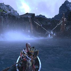 God of War Island of Light treasure map location
