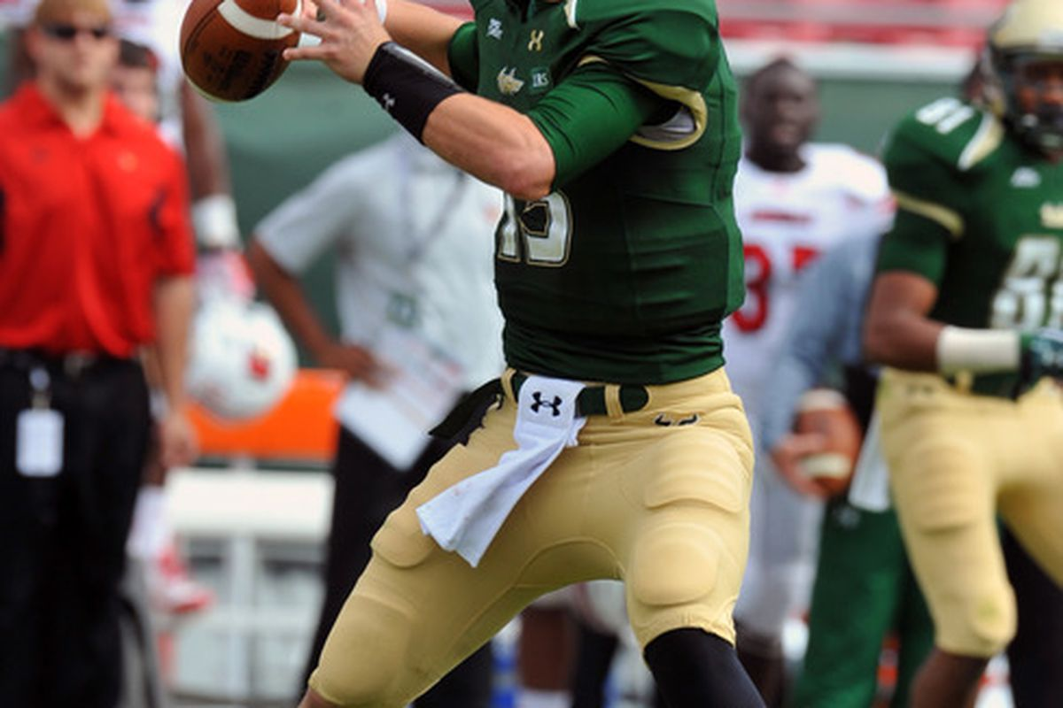 Bobby Eveld backed up B.J. Daniels the last two years, but now Matt Floyd may be poised to overtake him.
