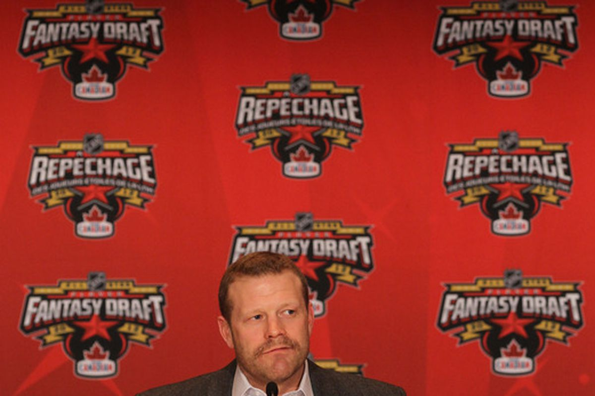 """Without looking it up, I assume that """"Repechage"""" means """"Fantasy Draft"""" in Canadian"""