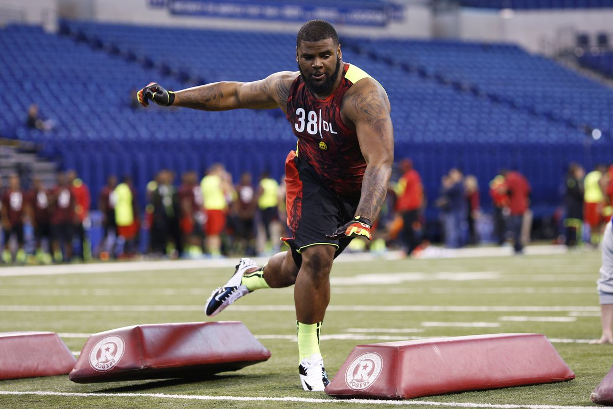 Could Missouri defensive tackle Sheldon Richardson have earned himself the top overall pick with his Combine performance?