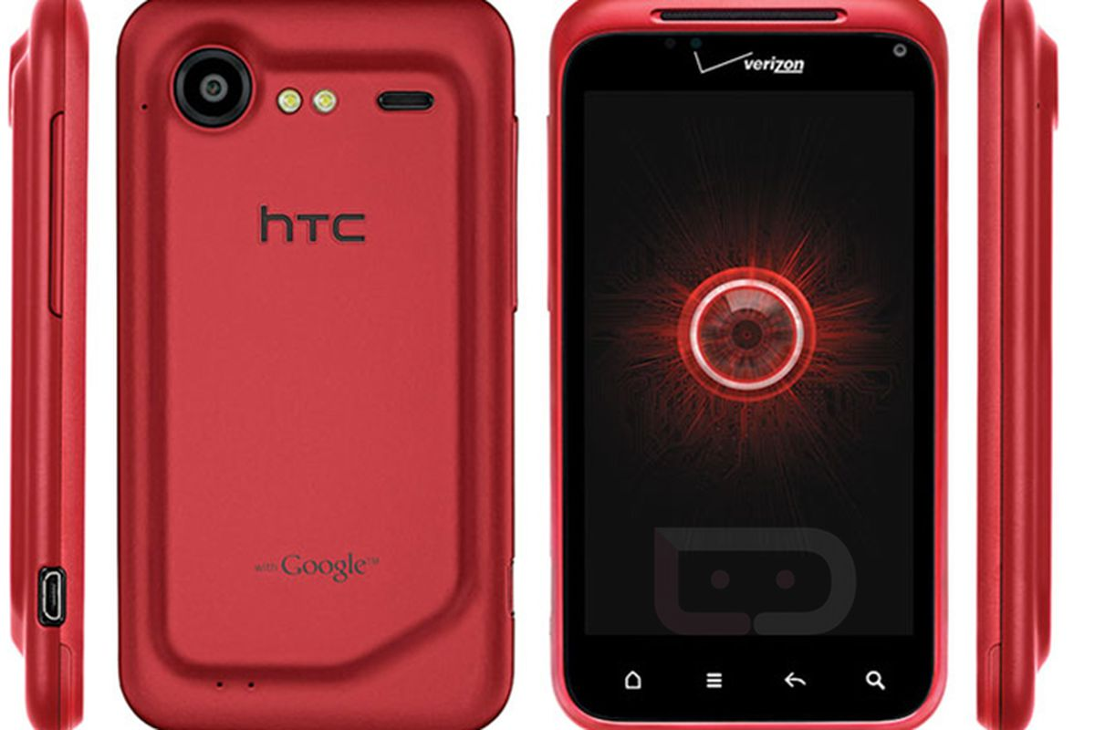 Red Droid Incredible 2