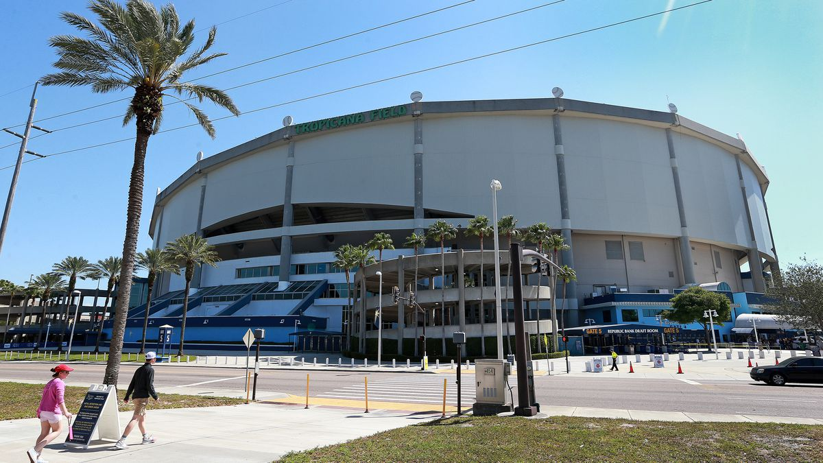 2018 Opening Day: Boston Red Sox Vs Tampa Bay Rays At Tropicana Field