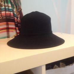 Straw hat, $30