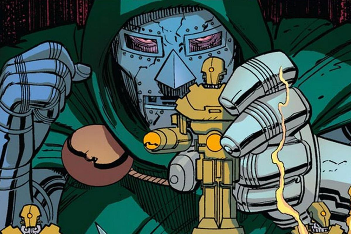 Doctor Victor Von Doom, ruler of Latveria and arch-nemesis of the Fantastic Four.