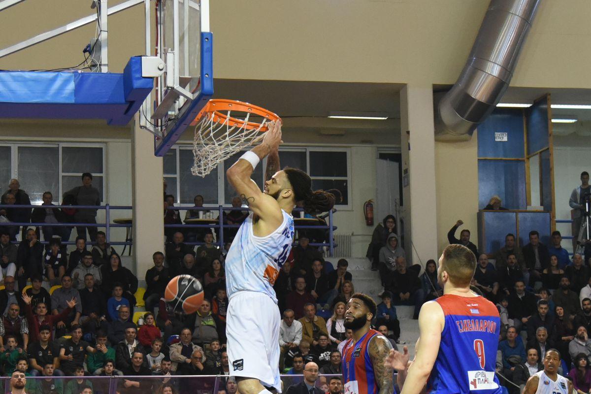 G.S.Kymis v Panionios Athens - Championship Basket League