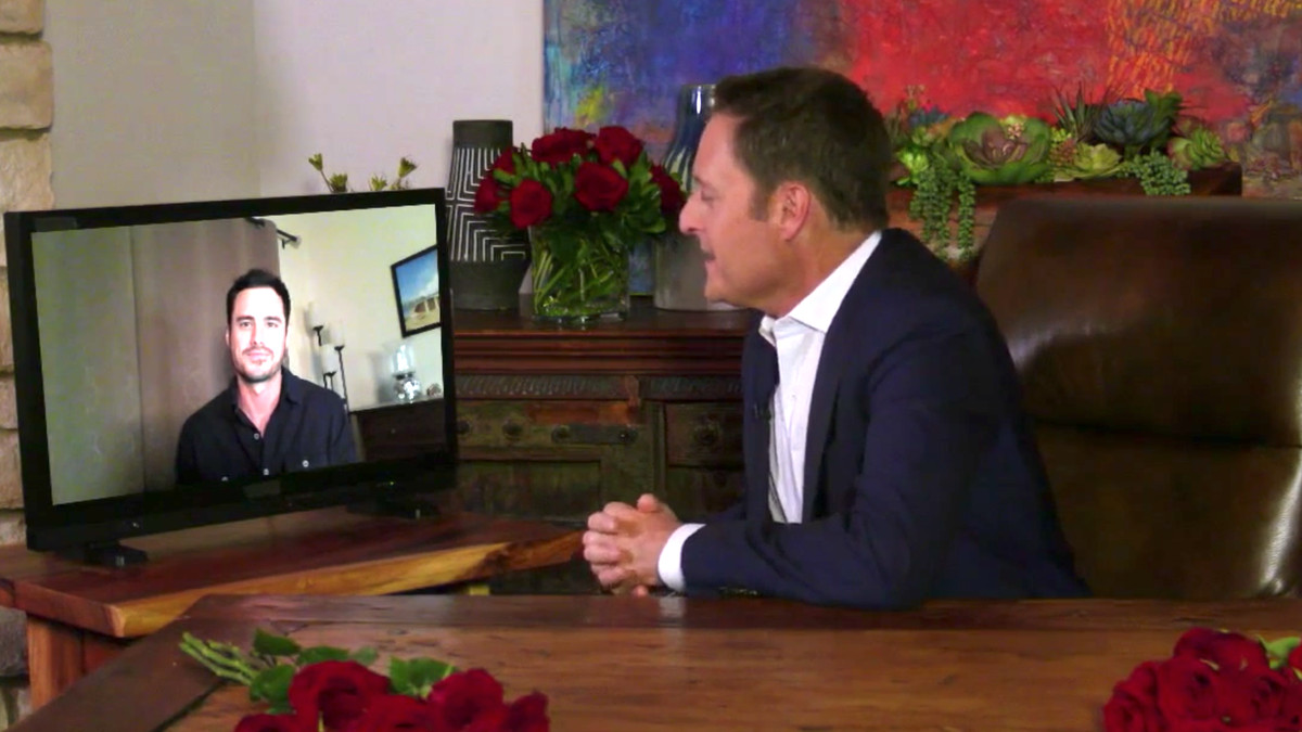 chris harrison talks to Bachelor Ben Higgins about his season on The Greatest Seasons — Ever