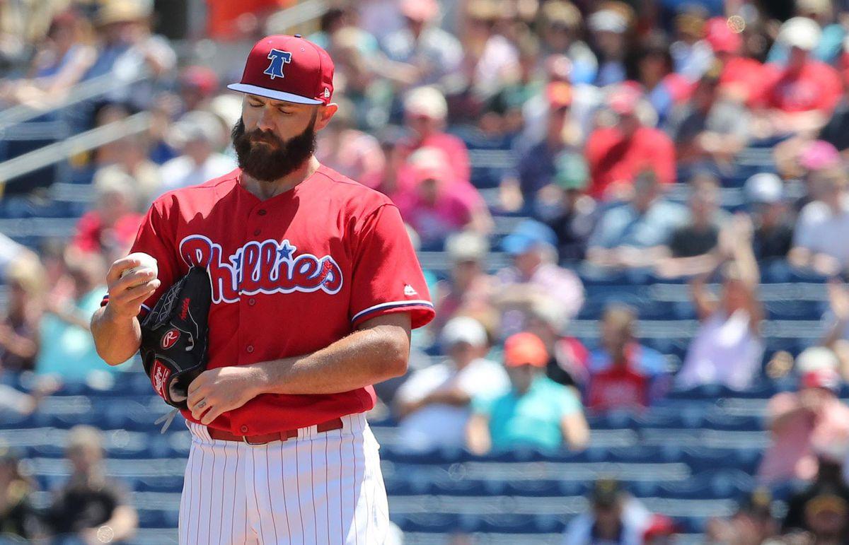 MLB: Spring Training-Pittsburgh Pirates at Philadelphia Phillies
