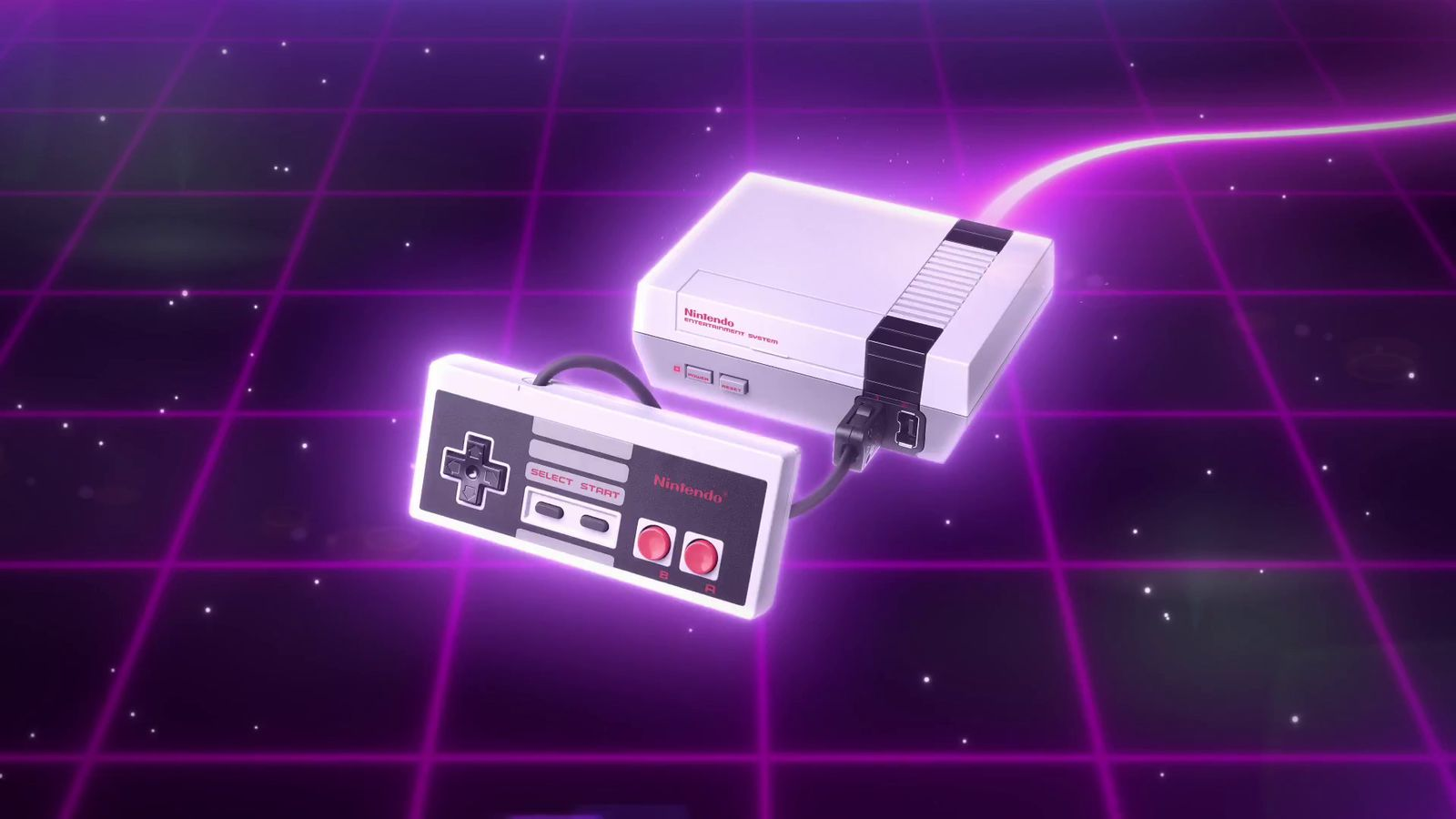 This Nes Classic Ad Is Appropriately 80s Tastic Polygon