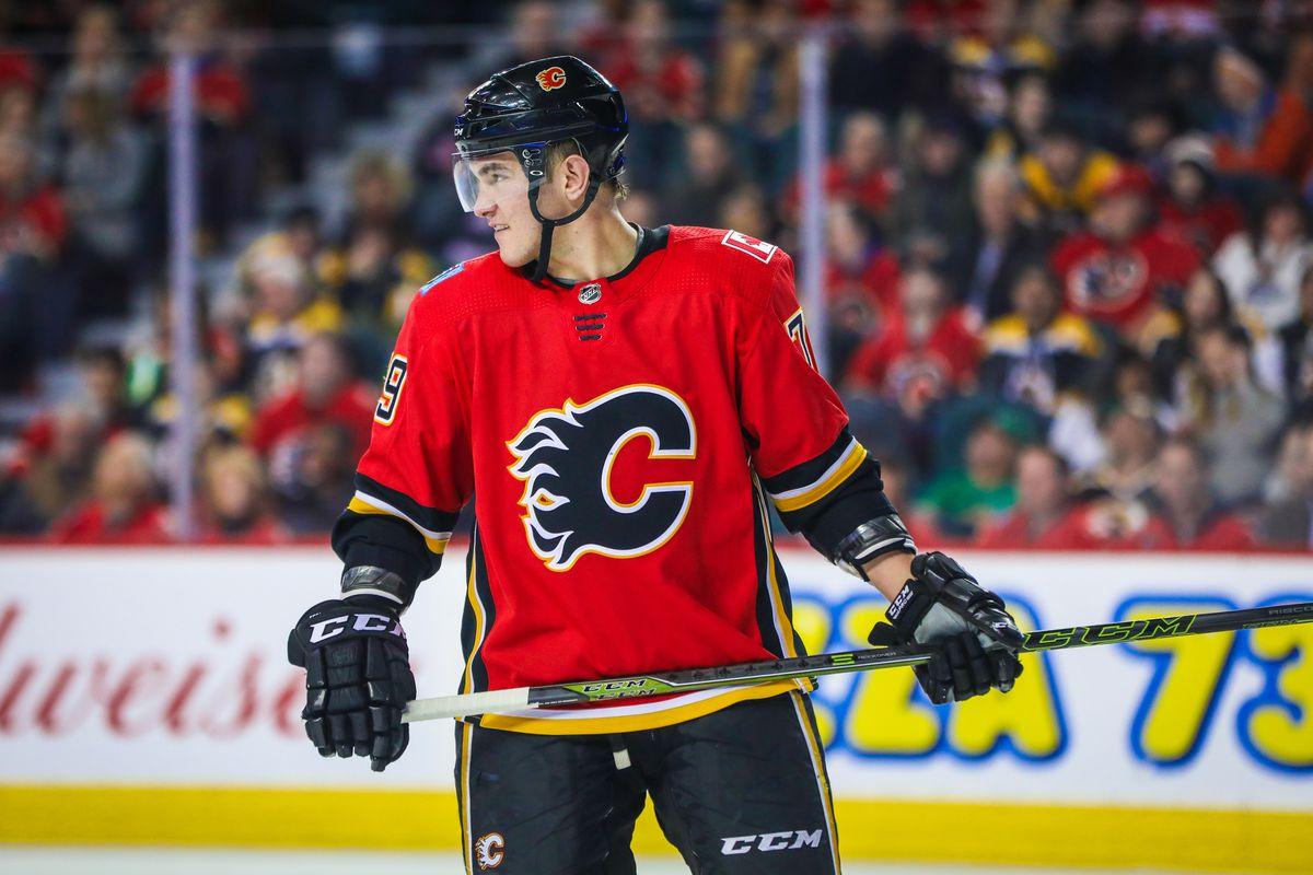 NHL: Boston Bruins at Calgary Flames