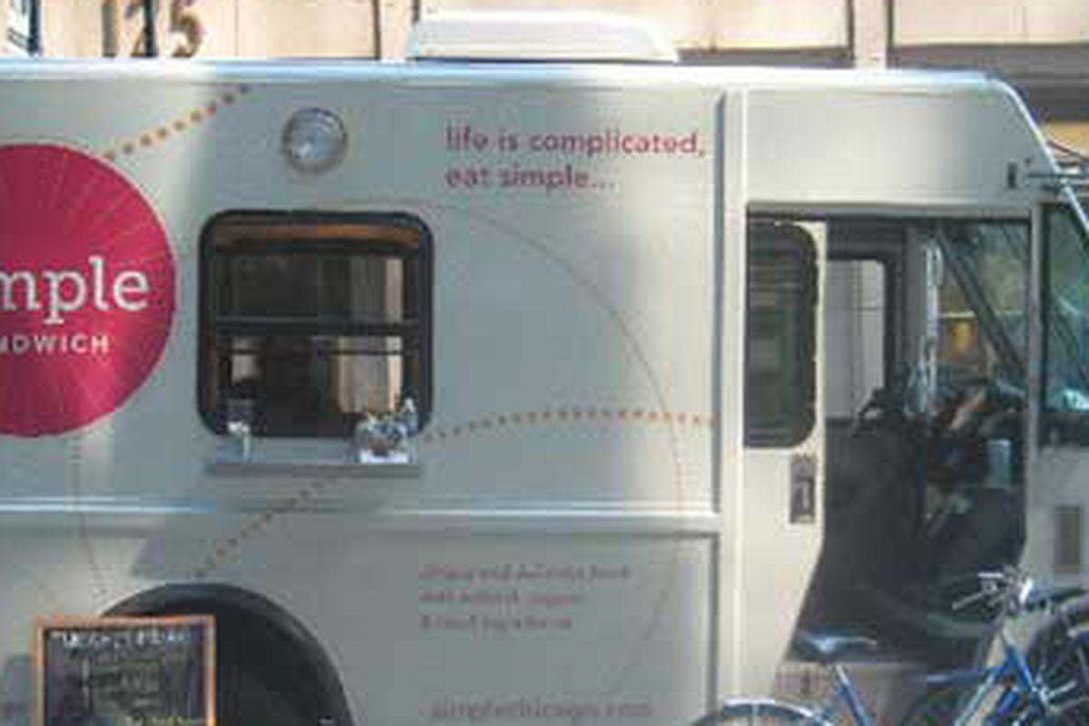 Simple Sandwich truck