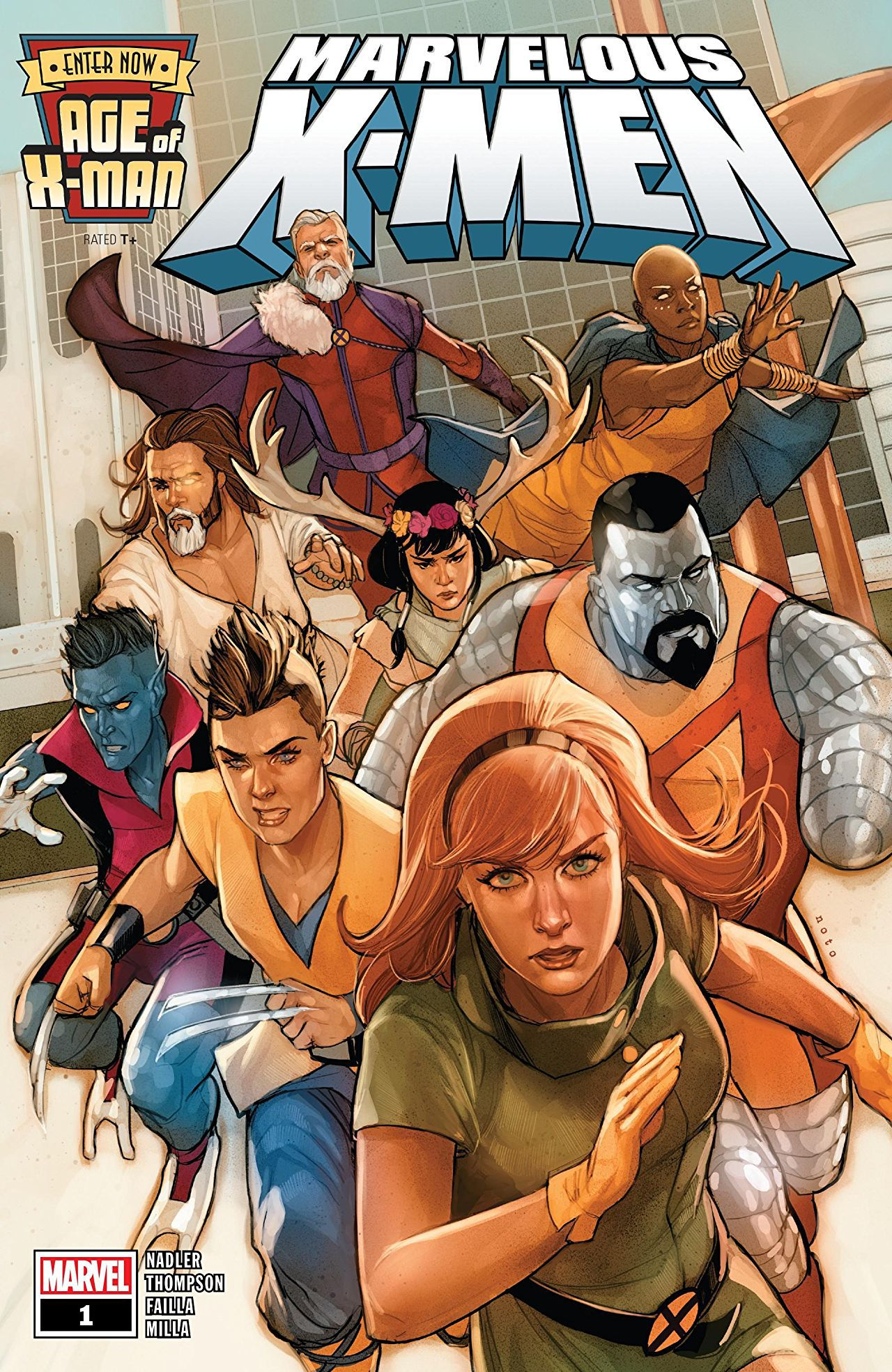 Age Of X Man Marvels Epic Event Inspired By Age Of Apocalypse