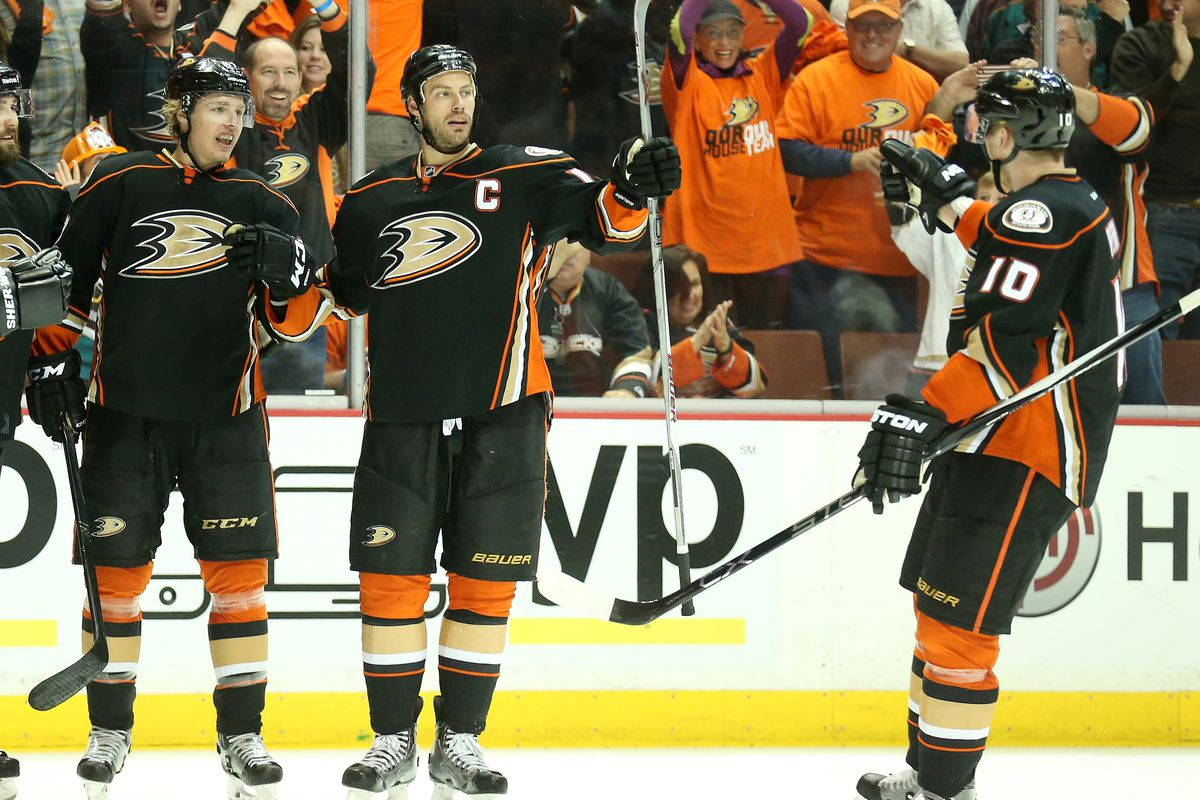 Calgary Flames v Anaheim Ducks - Game Two