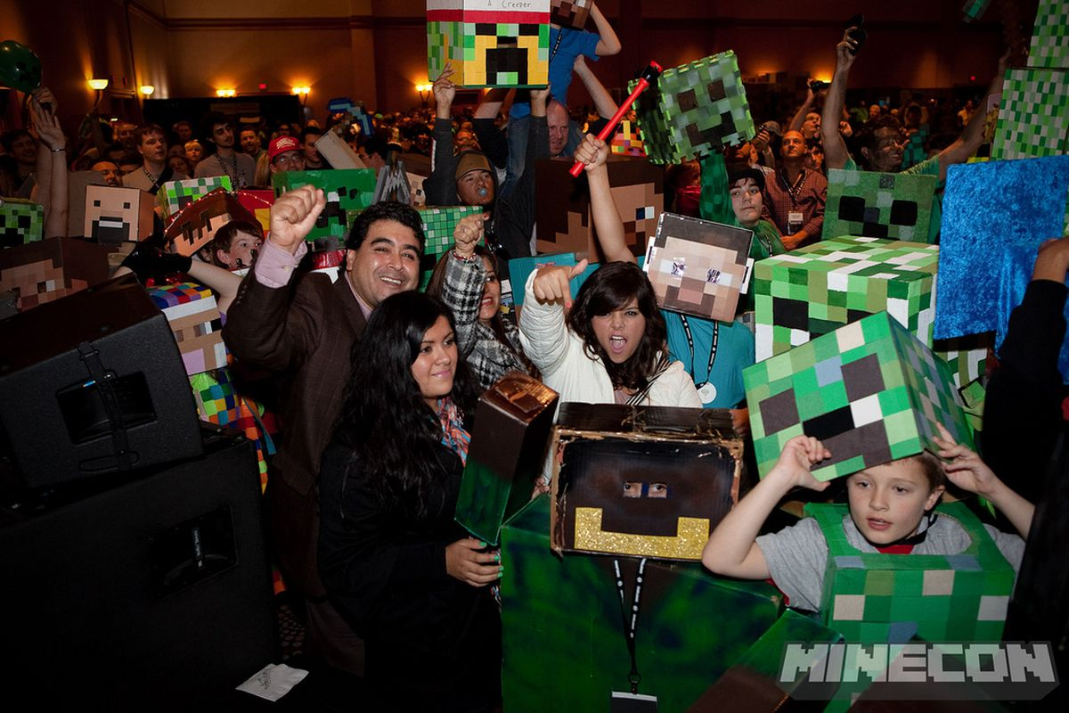 minecon is officially off this year looks to return in 2015 polygon