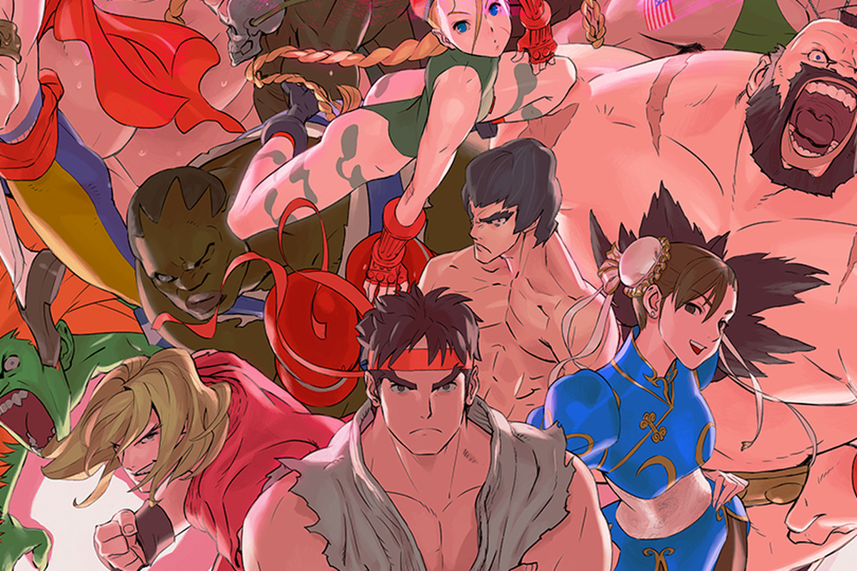 Ultra Street Fighter 2: The Final Challengers artwork