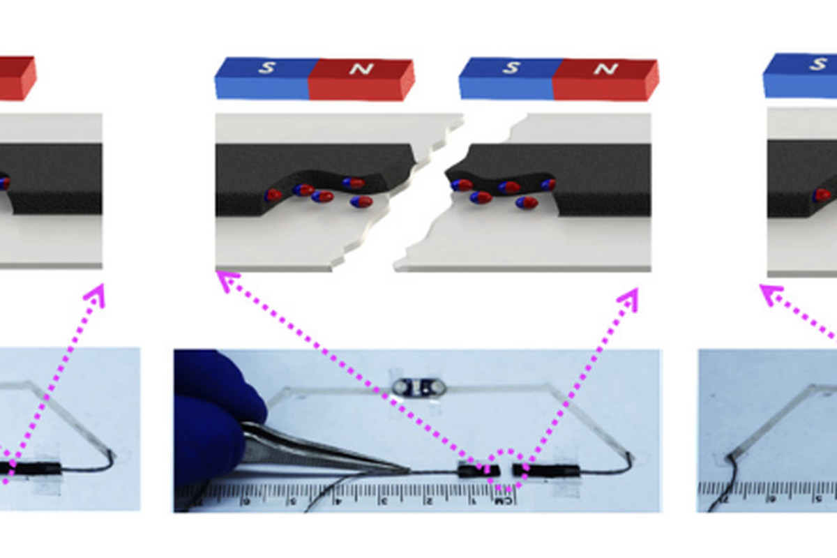 Scientists develop magnetic ink that lets gadgets self-heal when ...