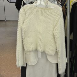 The Row cashmere and mink sweater, $1,179.50 (from $6,000)