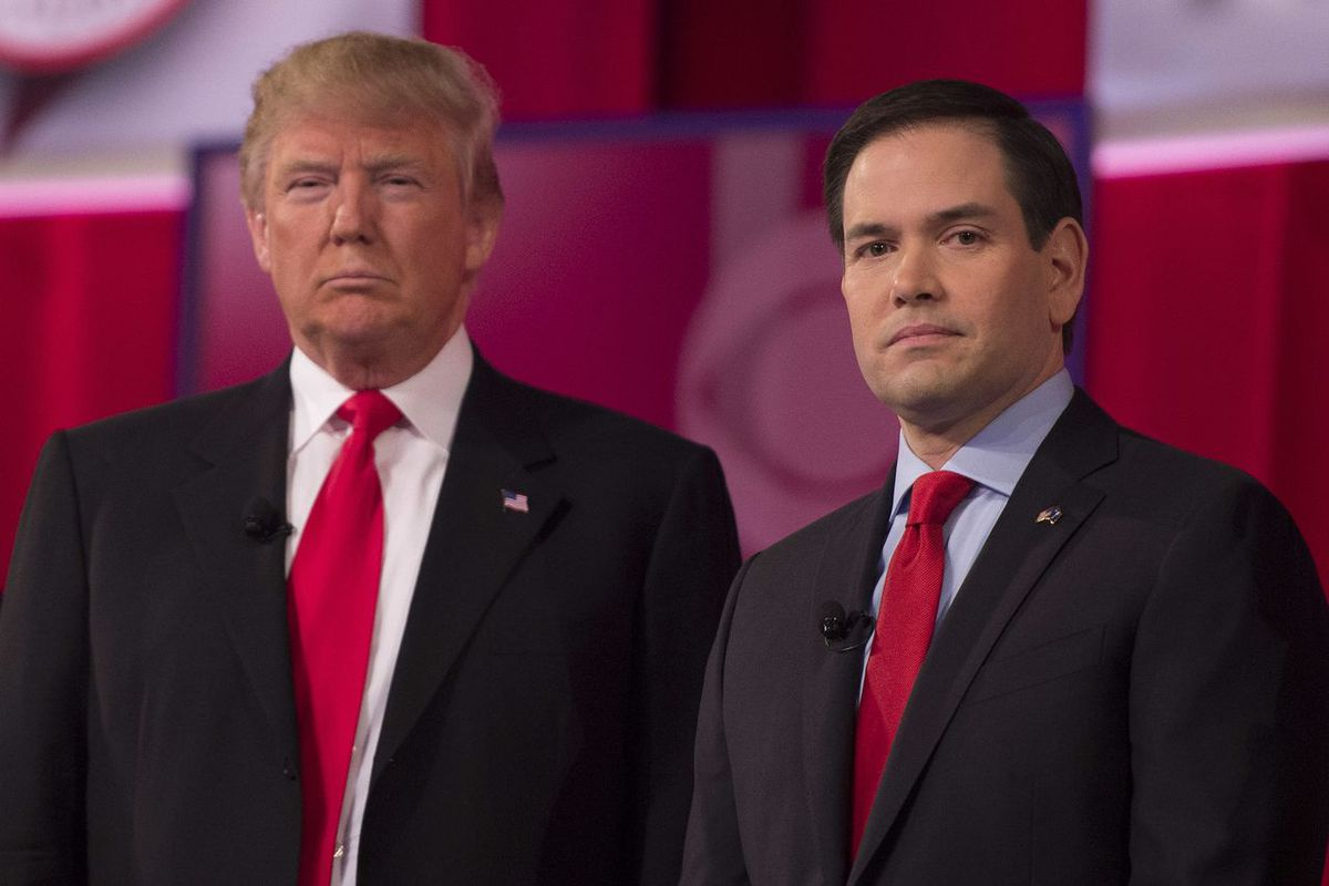 Donald Trump and Marco Rubio have both released tax proposals that would add trillions to the federal deficit.