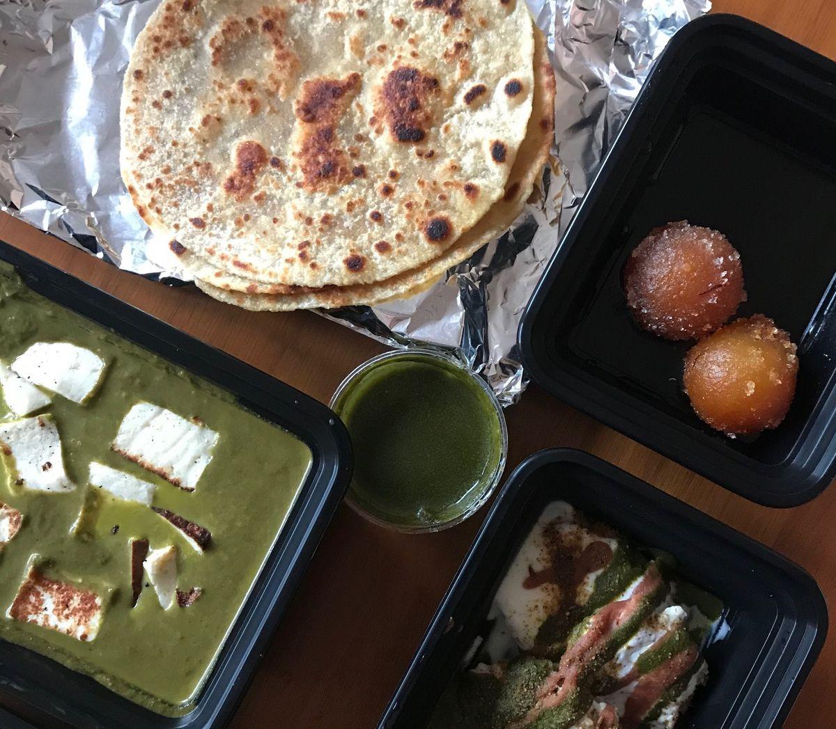 Diwali feast from Besharam