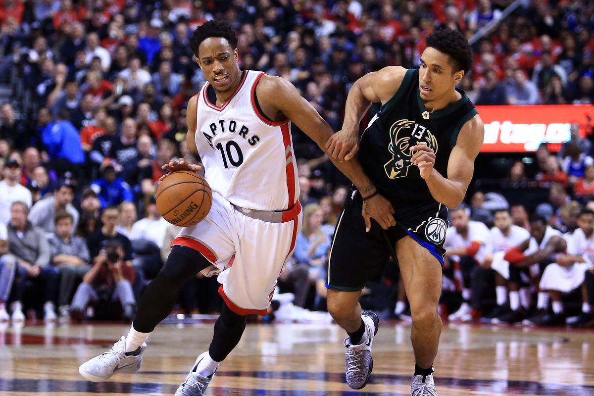 Milwaukee Bucks v Toronto Raptors - Game One