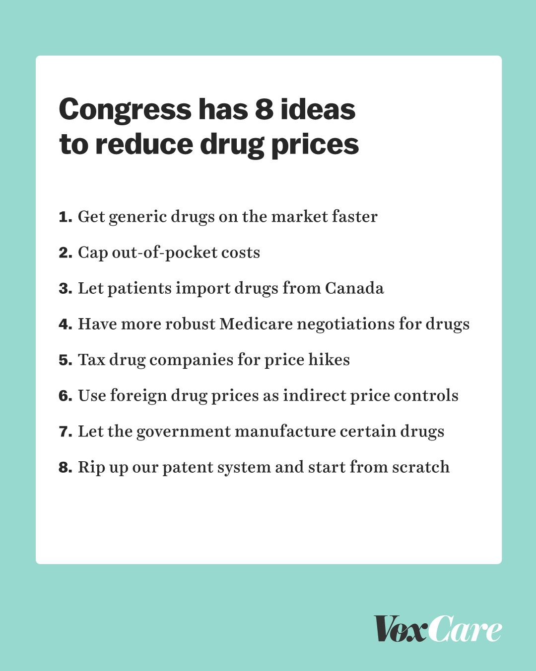 Pharmaceutical CEOs testify in Congress: 8 ideas for