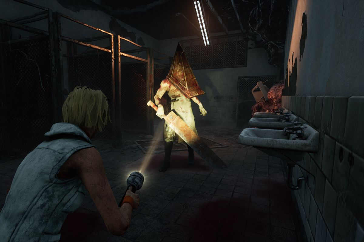 Halloween 2020 Flashlight Head Dead by Daylight devs deny nerfing Pyramid Head's ass   Polygon