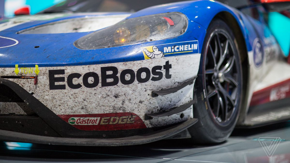 The most beautiful car at the detroit auto show is covered in dirt and dead bugs