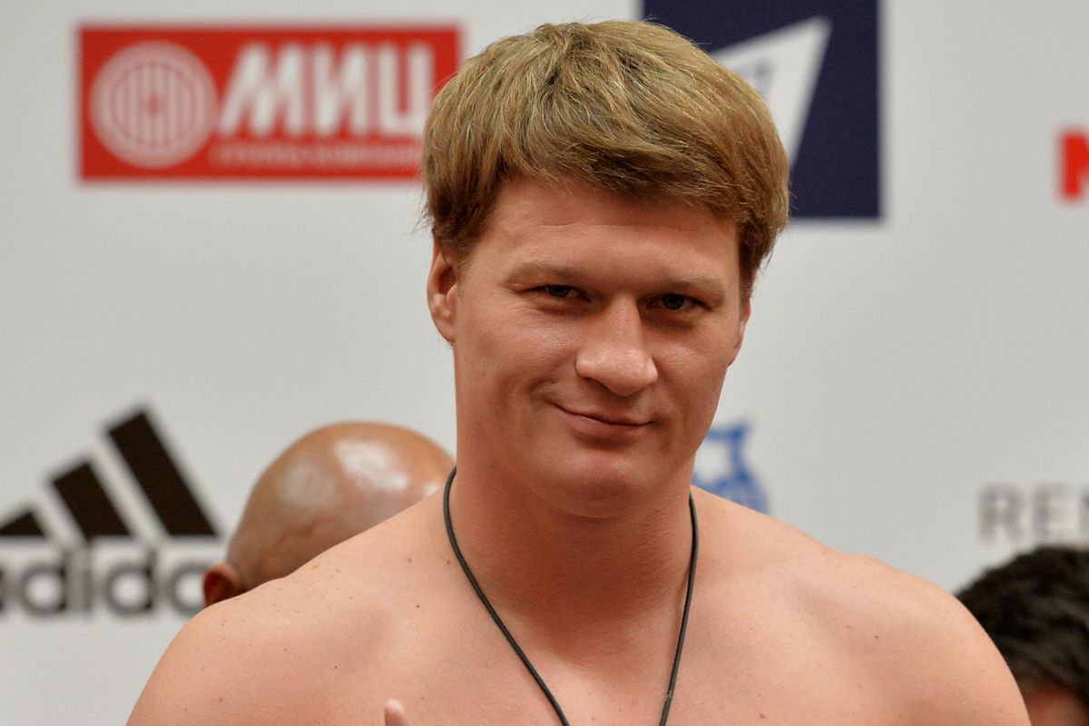Alexander Povetkin Vs Wladimir Klitschko - Weigh In