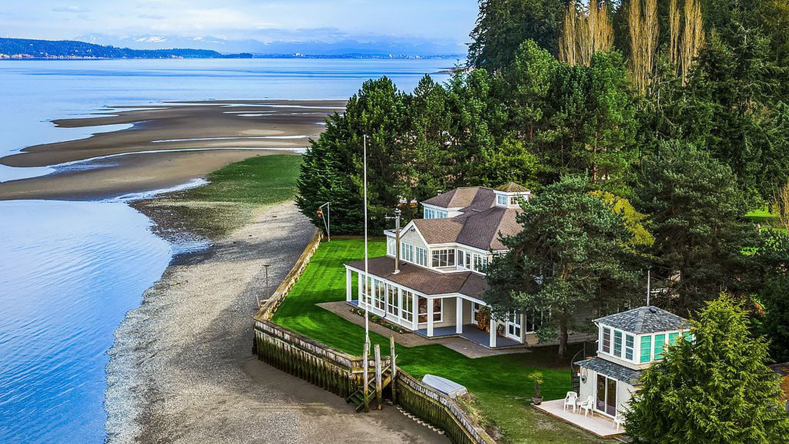 Camano Island Waterfront Homes For Sale