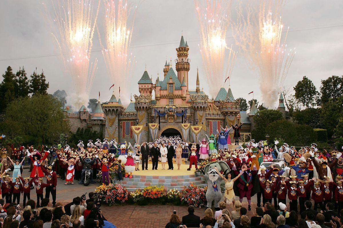 Disney, Anaheim, California.