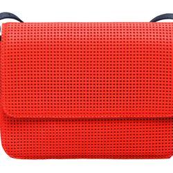 Orange Pasadena bag, $120