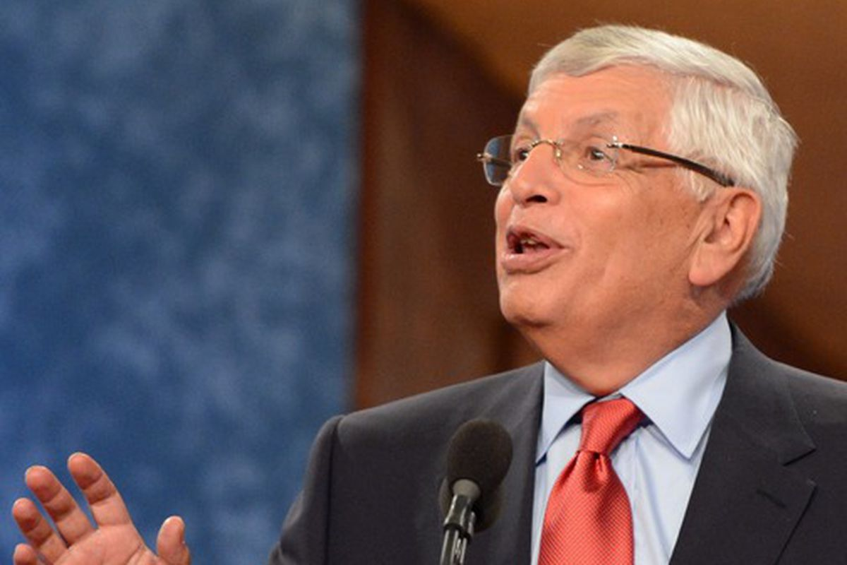 Unlike David Stern, we'll stick around for the entire draft.