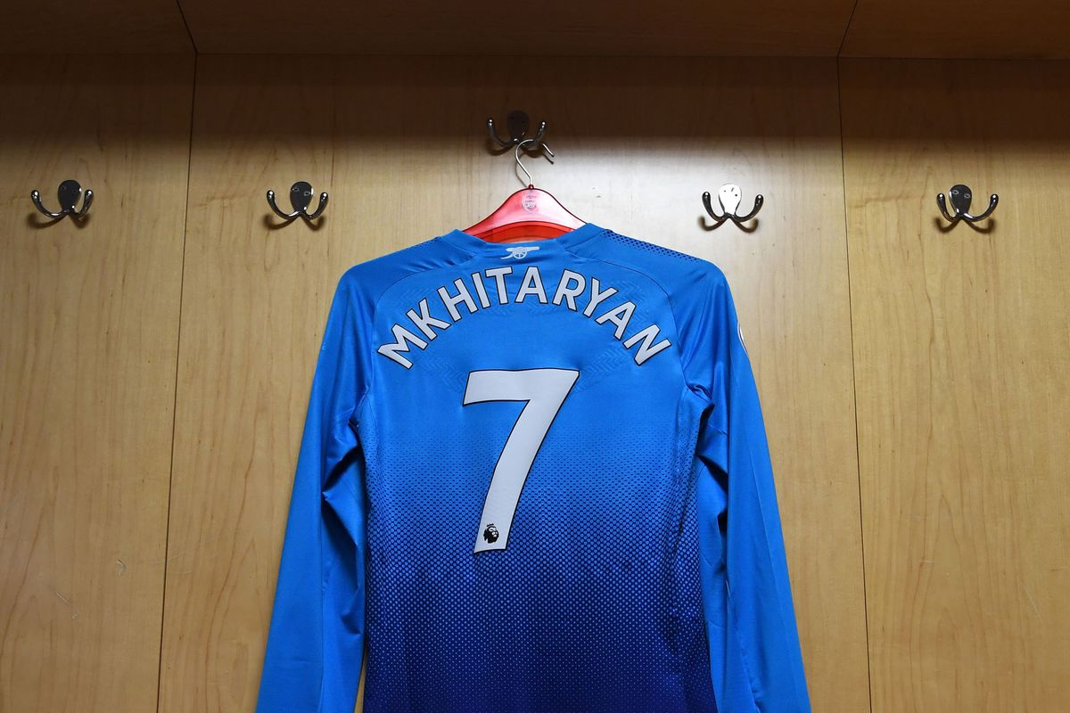 Arsenal reveal Henrikh Mkhitaryan's squad number for the Europa League