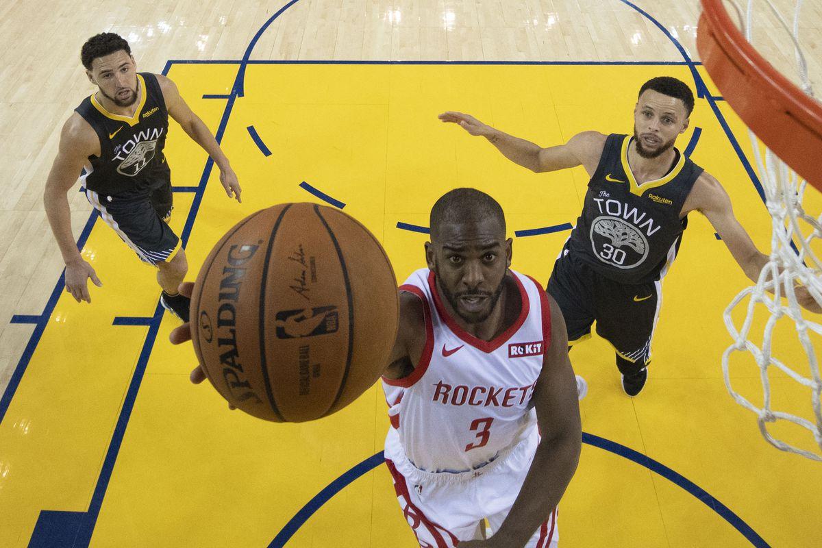 NBA: Playoffs-Houston Rockets at Golden State Warriors