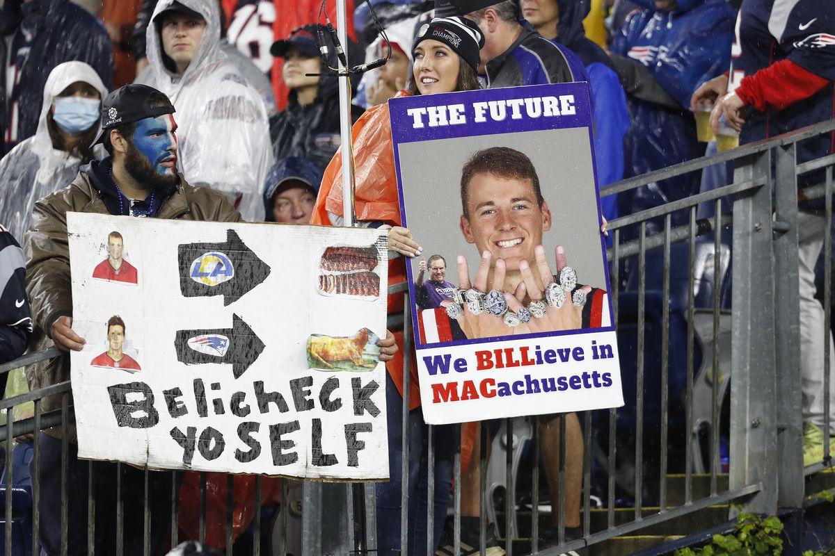 Tampa Bay Buccaneers Vs. New England Patriots At Gillette Stadium