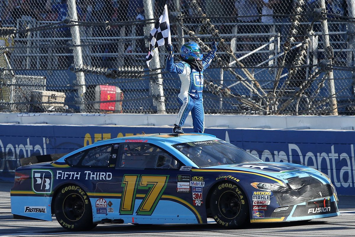 NASCAR at Talladega recap: Ricky Stenhouse Jr. leads Roush Fenway ...