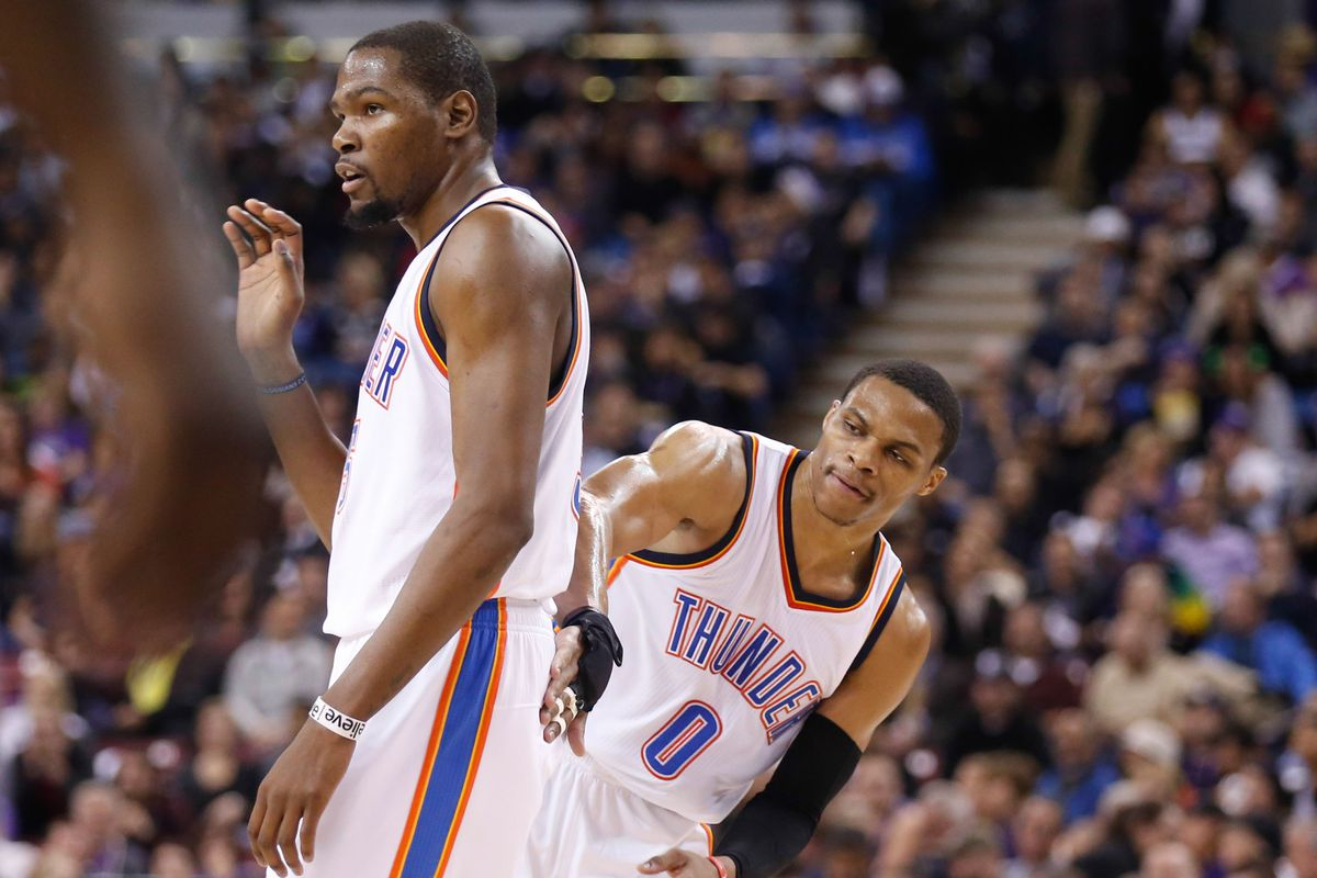 More KD. More Westbrook. Coming your way!