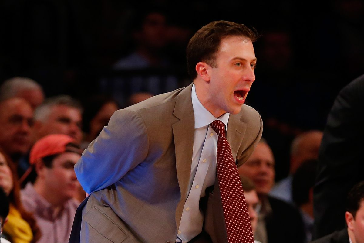Good interview by Marcus Fuller with Richard Pitino
