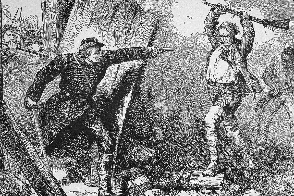John Brown's Raid On Harper's Ferry, VA, 1859.