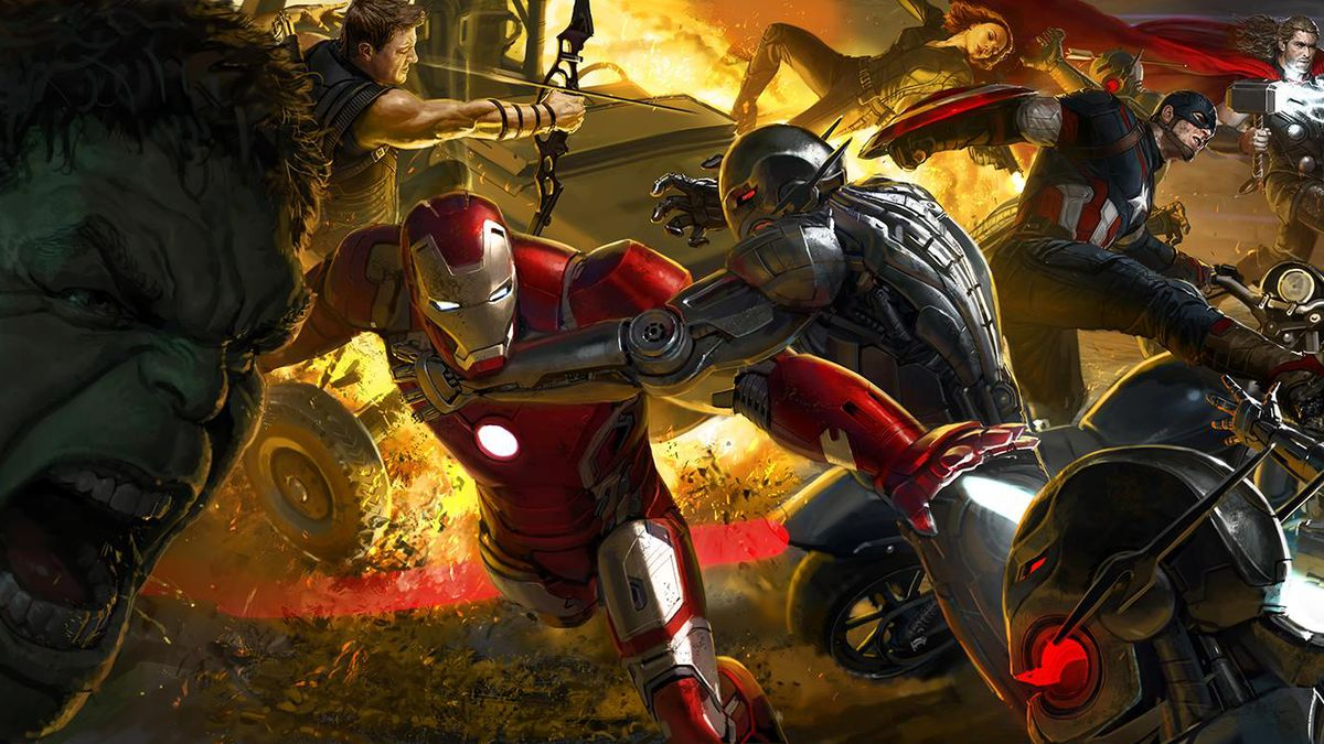 The Art of Avenger's: Age of Ultron book cover