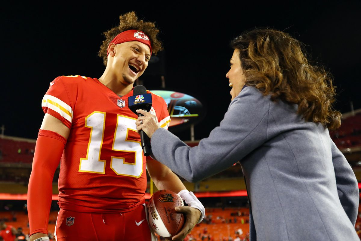 8432a9d4a2d 7 times Patrick Mahomes lived up to his 'Showtime' nickname in the Chiefs' blowout  win over the Bengals
