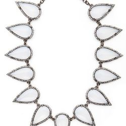 """<b>Made Her Think</b> Smashed Talon Necklace in resin, <a href=""""http://www.madeherthink.com/shop/smashed-talon-necklace-resin/"""">$920</a> at Bergdorf Goodman on November 5th"""