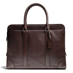 "<a href=""http://f.curbed.cc/f/Coach_SP_031214_SlimBrief_2"">Crosby Slim Brief in Box Grain Leather</a>, $698"