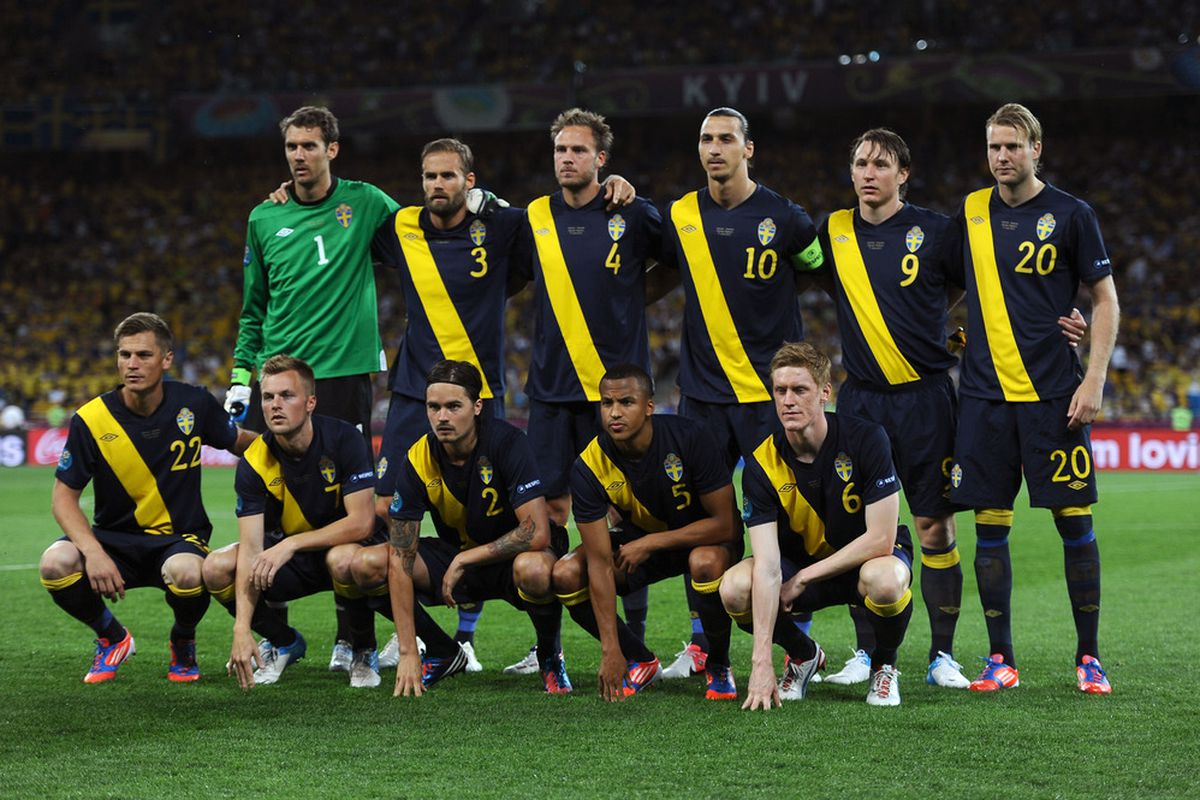 Seb Larsson's Sweden came unstuck against host nation Ukraine in their first game of the tournament.
