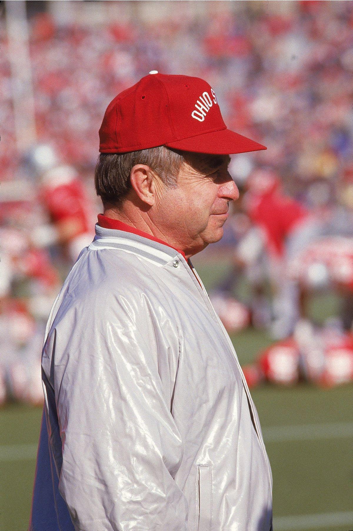 Ohio State Coach Earle Bruce